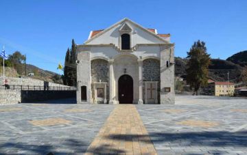 Ο νέος Ιερός Ναός της Παναγίας Ιαματικής